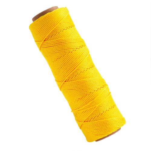 Marshalltown M621 Twisted Nylon Brick Line Yellow 285ft