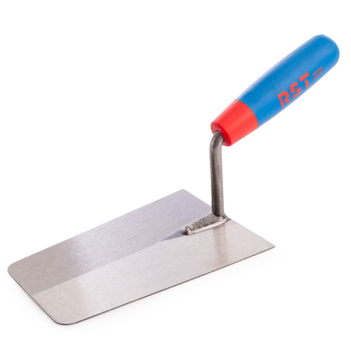 RST RTR137S Bucket Trowel With Soft Touch Handle 7in