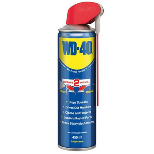 WD-40 Multi-Use Lubricant with Smart Straw (44037) 450ml
