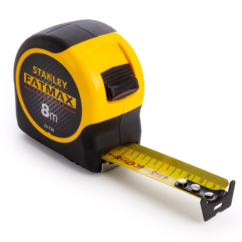 Stanley 0-33-728 FatMax Metric Tape Measure with Blade Armor 8m