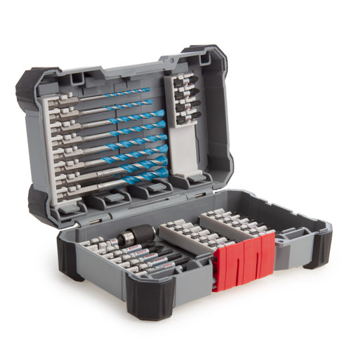 Bosch 2608577147 MultiConstruction Drill & Impact Screwdriver Bit Set (35 Piece)