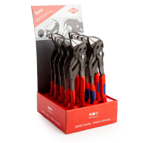 Knipex 001801V34 Plier Wrench (Pack of 5 x 8601250 + 5 x 8602250)