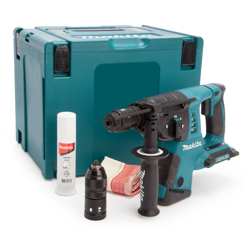Makita DHR264ZJ 36V LXT SDS Plus Rotary Hammer Drill (Body Only) Accepts 2 x 18V Batteries 2