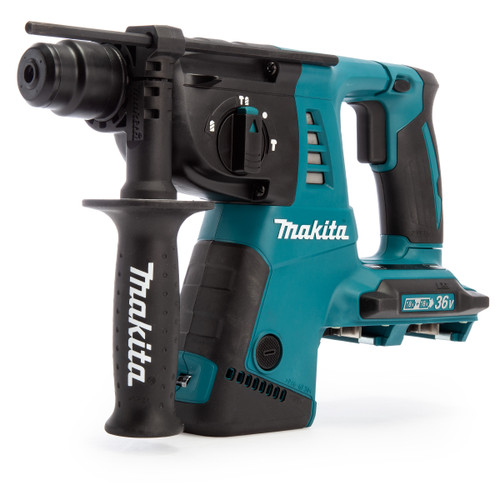 Makita DHR263ZJ 36V LXT SDS Plus Rotary Hammer Drill (Body Only) Accepts 2 x 18V Batteries