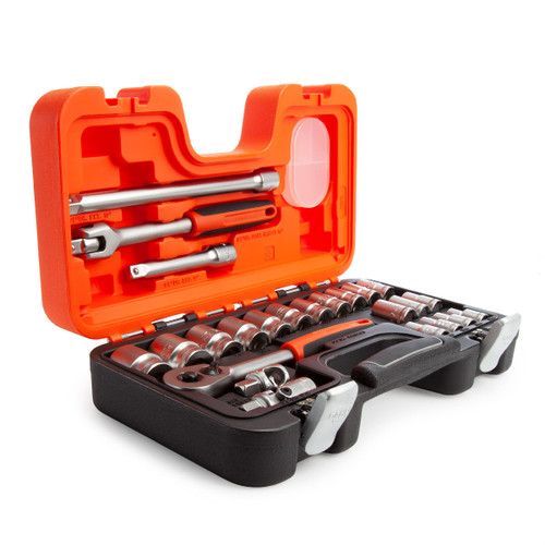 Bahco S240 1/2in Socket & Mechanical Set (24 Piece)