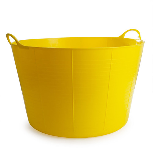 Red Gorilla TC75Y Extra Large Yellow Flexible Tub 75L