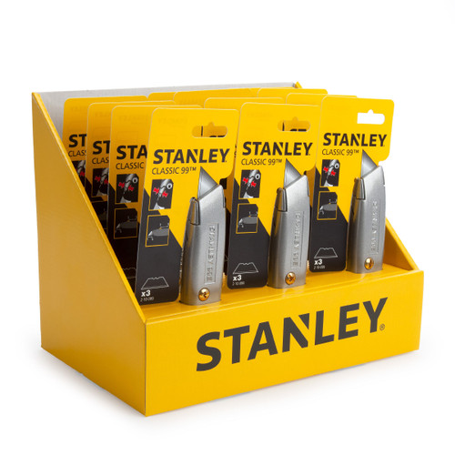Stanley STHT10099-9 Counter Top Display Of 12 2-10-099 Retractable Blade Knives