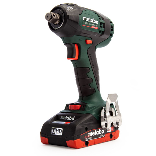 Metabo 602395580 SSW18LTX300BL 18V Brushless Impact Wrench (2 x 4.0Ah LiHD Batteries)