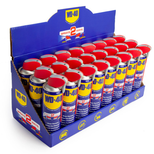 WD-40 Multi-Use Lubricant with Smart Straw (44237) 450ml (Pack of 24)
