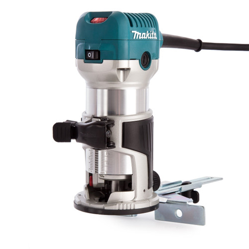 Makita RT0700CX4 1/4 inch Router/Laminate Trimmer with Trimmer Guide (240V)