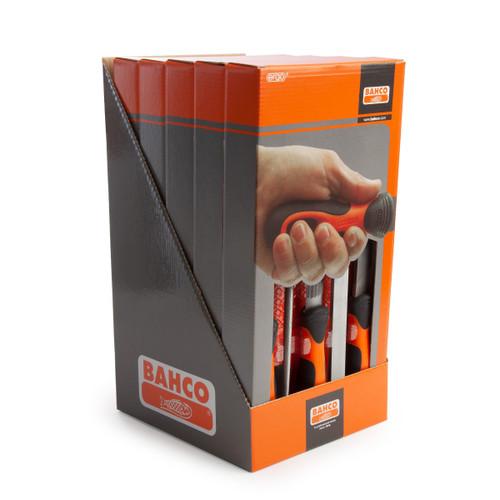 Bahco 1-478-08-5P-DISP 5 Piece Ergo File Set Merchandiser (Display Box Of 5)