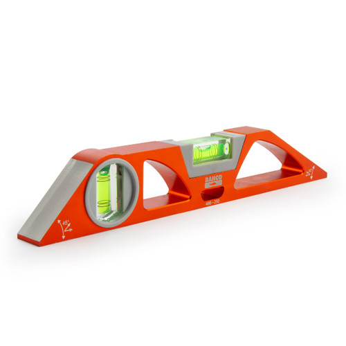 "Bahco 250mm / 10"" Aluminium Scaffold Spirit Level (466-250)"