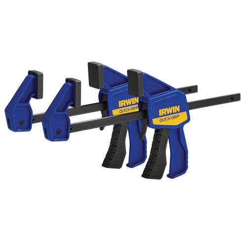 Irwin Quick-Grip T5462EL7 Mini Bar Clamp 6in / 150mm Twinpack