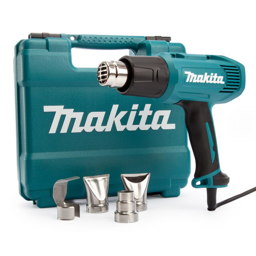 Makita HG5030K Heat Gun 1600W 2 Speed 350 - 500 ºC 240V