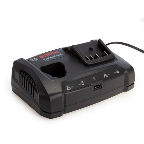 Bosch GAX 18V-30 Professional 12V/18V Dual Charger with USB Port