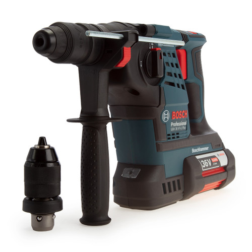 Bosch GBH 36 VF-LI Plus Professional SDS Plus Rotary Hammer with QCC (2 x 6.0Ah Batteries)