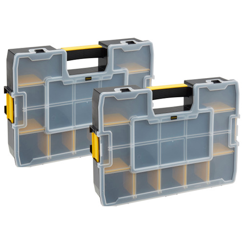Stanley 1-95-839 Sortmaster Organiser Twin Pack