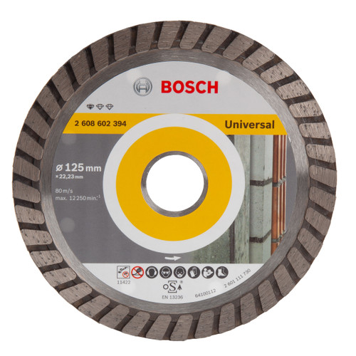 Bosch 2608602394 Standard For Universal Turbo Diamond Cutting Disc
