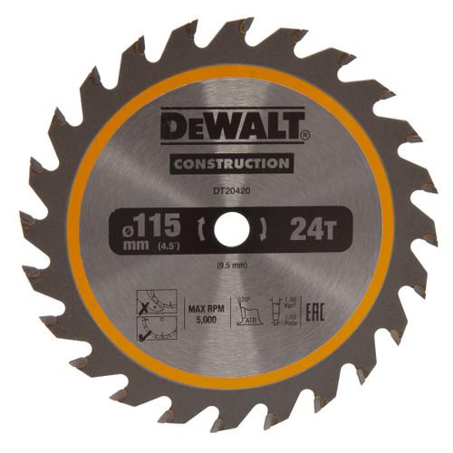 Dewalt DT20420 TCT Circular Saw Blade For DCS571
