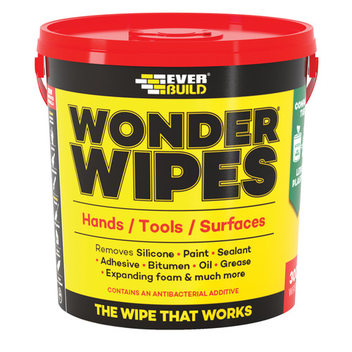 Everbuild GIANTWIPE Wonder Wipes Giant Tub 300 Wipes