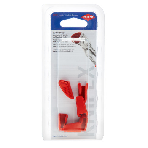 Knipex 8609180V01 Protective Jaw Covers for 8609180 V01 (3 Pairs)
