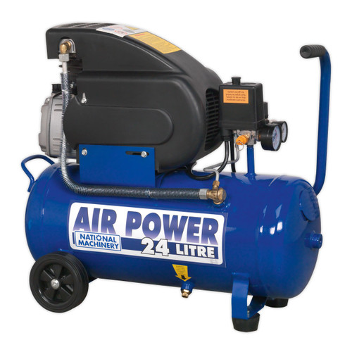 Sealey NA2420E 24Litre Tools Air Compressor 2HP 240V