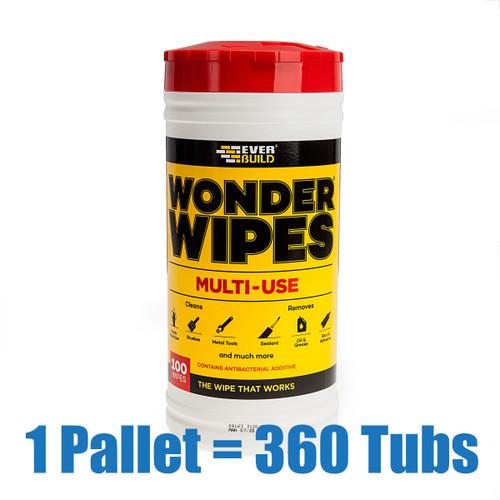 Everbuild WIPE80 Pallet of 360 Tubs