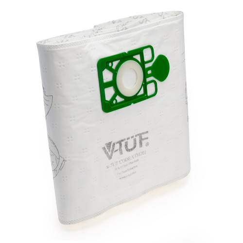 V-TUF VTM201 Dust Bags for the V-TUF Mini Plus (Pack Of 10)