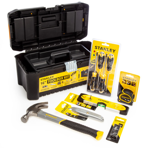 Stanley STHT77668-1 Essentials Tool Kit in 16 Inch Toolbox