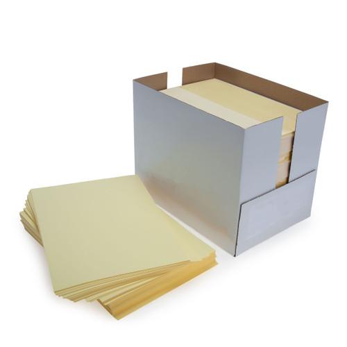 Pale Yellow A4 Copier Paper 80GSM