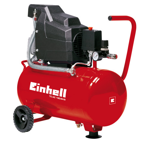 Einhell (40.073.25) TC-AC190/24/8 Air Compressor 8 bar 24 Litres 240V