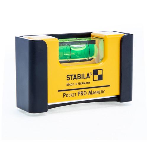 """Stabila 70mm / 2.75"""" Pocket PRO Magnetic Spirit Level 1 Vial (17768 / STB-17768-S)"""