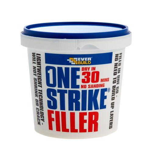 Everbuild ONE05 One Strike Multi-Purpose Filler White 450ml