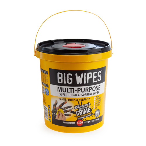 Big Wipes 4X4 Multi Purpose Super Tough Absorbant Wipes