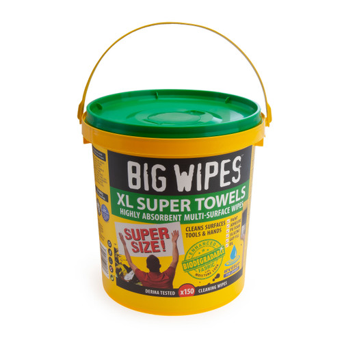 Big Wipes 4X4 XL Highly Absorbent Multi Surface Wipes