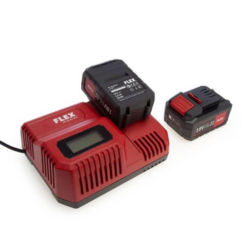 Flex Starter Kit - 2 x 18V 5.0Ah Batteries + 10.8/18V Charger