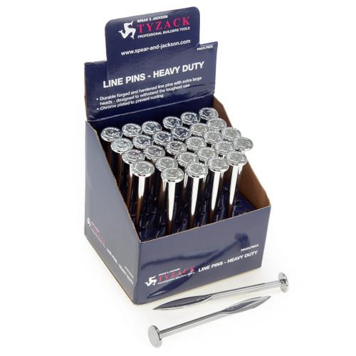 Spear & Jackson PROFLPBOX Tyzack Line Pins (Box of 30)