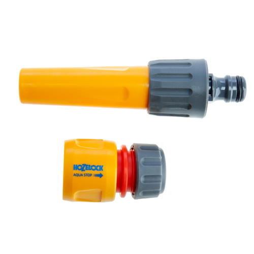 Hozelock 2292 8 Hose Nozzle and Waterstop Connector 12.5 - 15mm