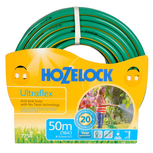 Hozelock 7750 Ultraflex Hose 12.5mm x 50 Metres