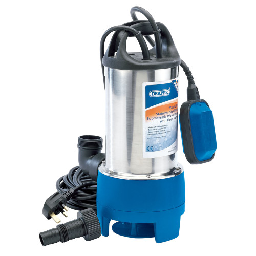 Draper 25360 Stainless Steel Submersible Dirty Water Pump 208L (240V)