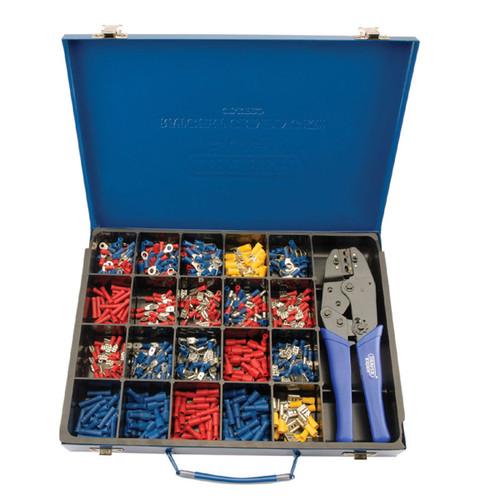 Draper 56383 Ratchet Crimping Tool and Terminal Kit