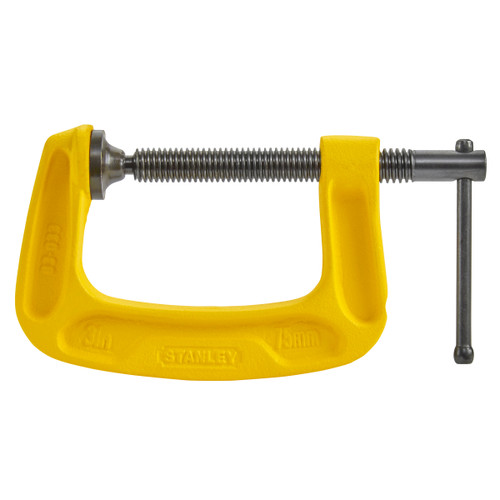 Stanley 0-83-033 MaxSteel C-Clamp 3in / 75mm
