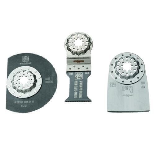 Fein 35222967110 Starlock Combo Renovation Set (3 Piece)