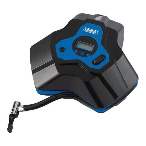 Draper 92667 12V Mini Digital Air Compressor 150psi