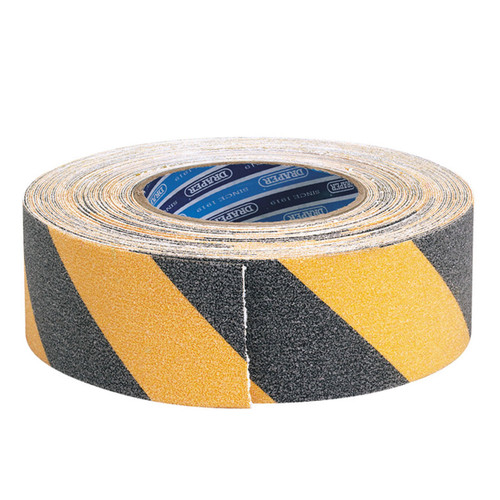 Draper 65440 Black and Yellow Safety Grip Tape 18m x 50mm