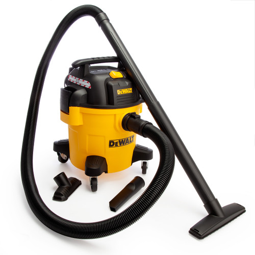 Dewalt DXV20P Professional Wet & Dry Vacuum Cleaner 20L (240V)