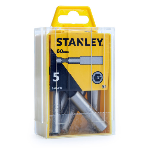 Stanley 1-68-732 Magnetic Bit Holders 1/4 Inch Hex (Box Of 5)