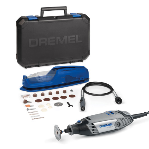 Dremel 3000-1/25 Multi Tool with 25 Accessories & Flexi Shaft