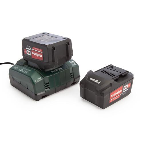 Metabo Basic Set (2 x 5.2Ah Li-Power Batteries & ASC 145 Charger)
