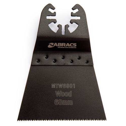 Abracs MTW6801 Multi Tool Blade for Wood 68mm